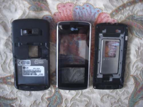 stock carcasa original+touch screen pantalla tactil lg kf600