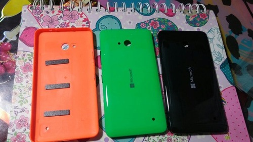 stock carcasa tapa de bateria lumia 640 colores