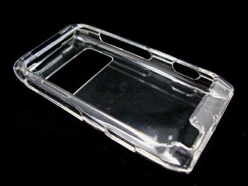 stock case cristal estuche protetor nokia n8