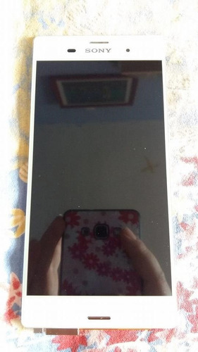 stock pantalla interno+tactil touch xperia z3 l55u blanco