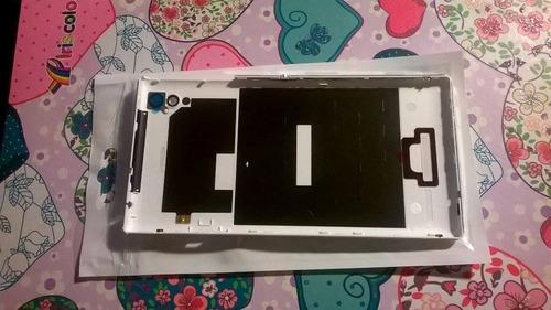 stock tapa de bateria  xperia  t3 blanco