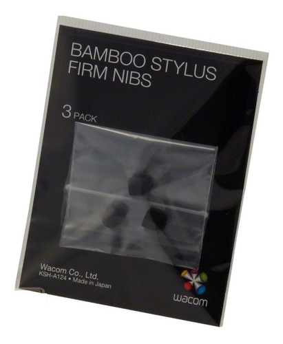 stock!! wacom stylus pen firm nib set (ack-20601) packx3