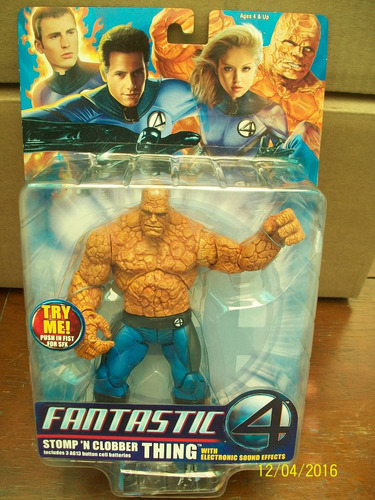stomp`n clobber thing with electronic sound 4 fantasticos