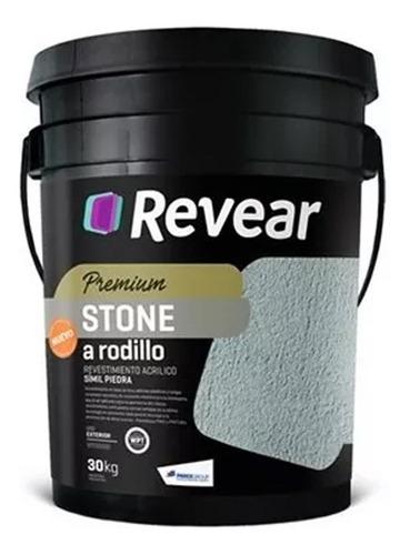 stone a rodillo revear x 30 kg revestimiento acrilico mm
