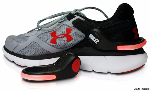 stop bicicleta luz led zapatos clip running deportes pack x2