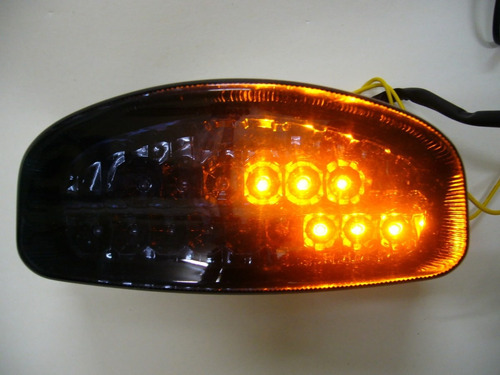 stop en led con direccionales integradas para suzuki gs500
