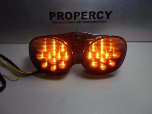 stop luz trasera con direccionales yamaha r6  2001-2002