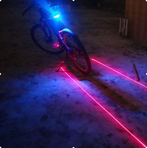 stop para bicicleta laser