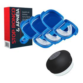 Stop Ronco - 3 Unidades + Caixa De Som Bluetooth