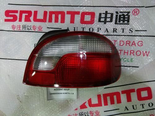 stop trasero hyundai accent 98 al 2006 derechos 4 puertas