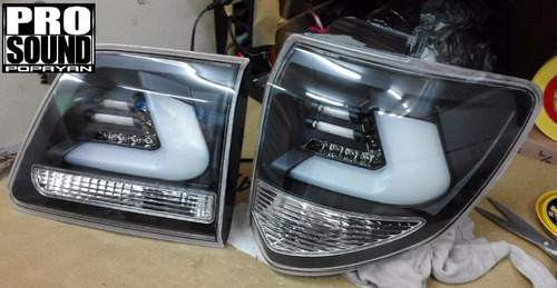stops led toyota fortuner 2013-2016 tipo lexus nuevos!