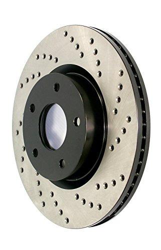 stoptech 128.37019r deporte rotor freno perforado cruz (tras