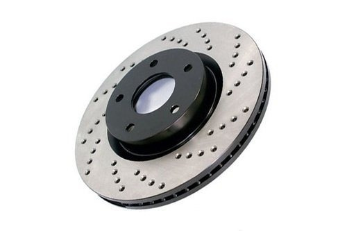 stoptech 128.63035l deporte cruz drilled brake rotor ; trase