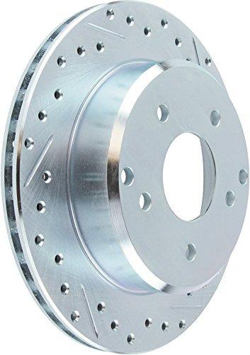 stoptech 227.67052r select rotor perforado y ranurado deport
