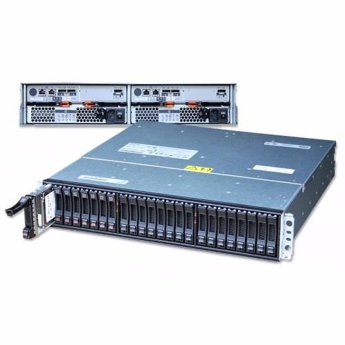 storage ibm ds3524 c/ 24 gavetas sas 6gb/s e fc 8gb