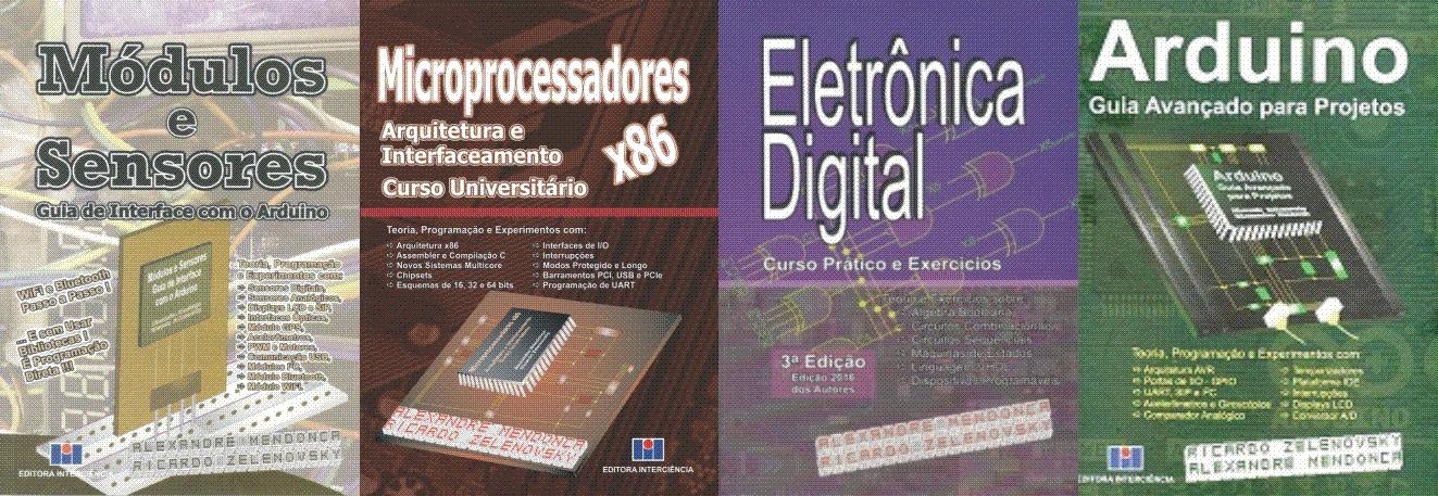 Livros de Alexandre Mendonça e Ricardo Zelenovsky