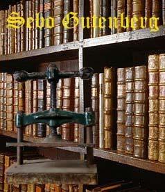 SEBO GUTENBERG - LIVROS E ENCADERNAÇÃO