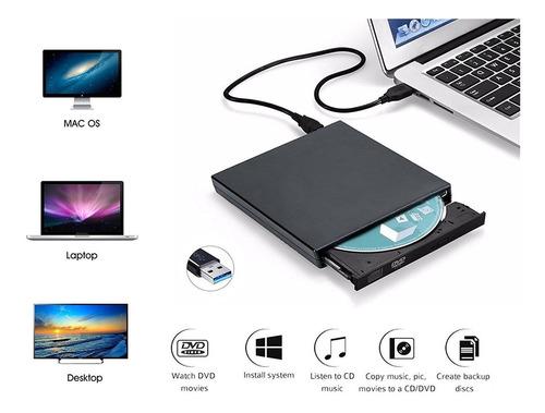 storite8x usb 2.0, delgado dvd/blu-ray/cd rw quemador