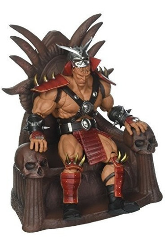 storm collectibles mortal kombat shao kahn figura de accion