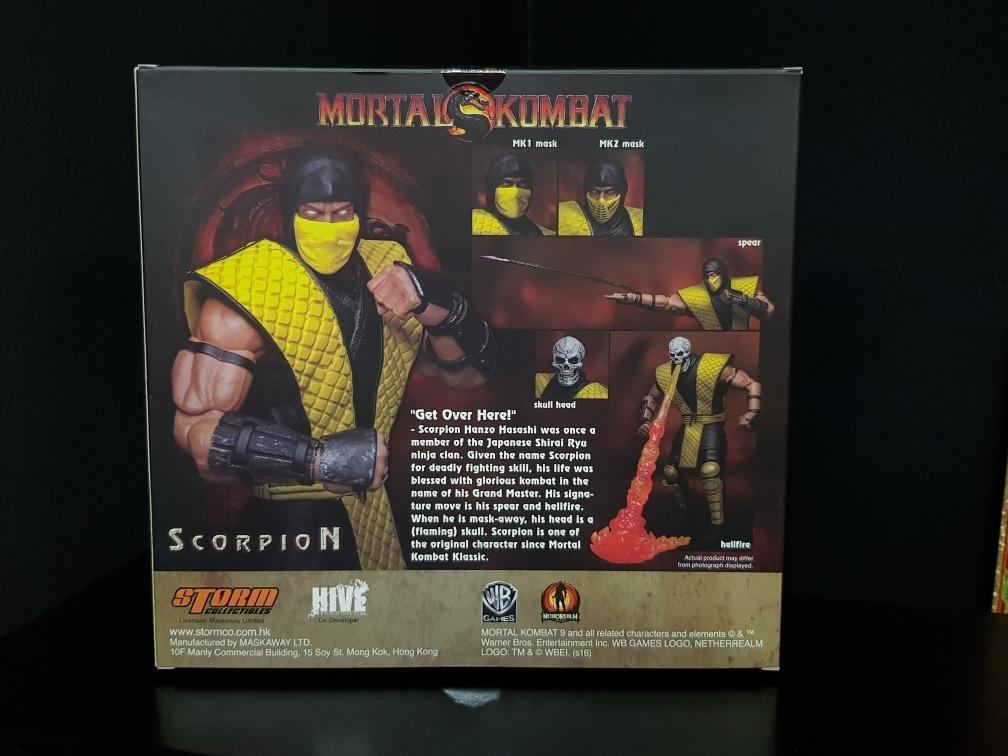 Storm Collectibles Scorpion Mortal Kombat