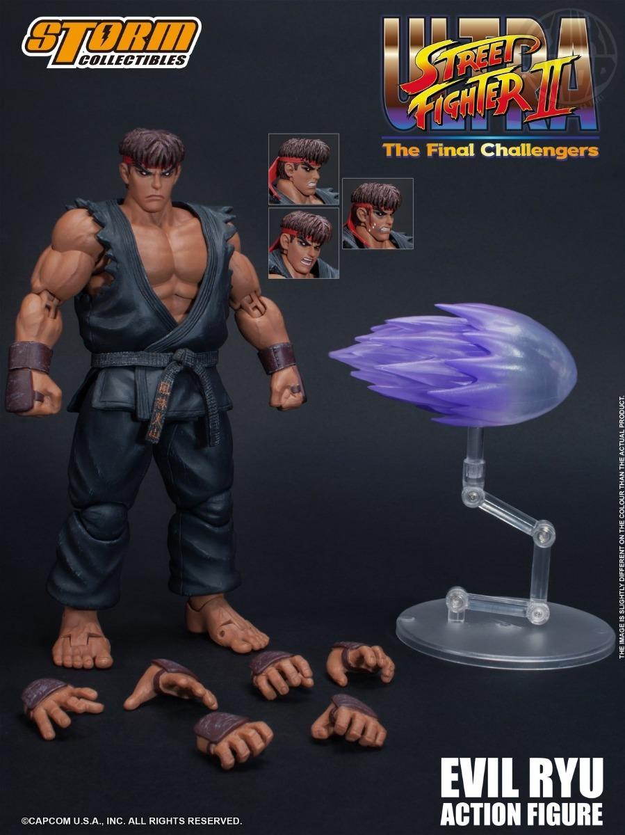 Resultado de imagen para Storm Collectibles Street Figther - Evil Ryu