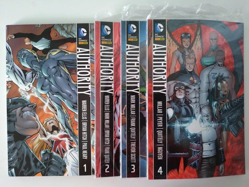 stormwatch + authority - completos 8 volumes - warren ellis