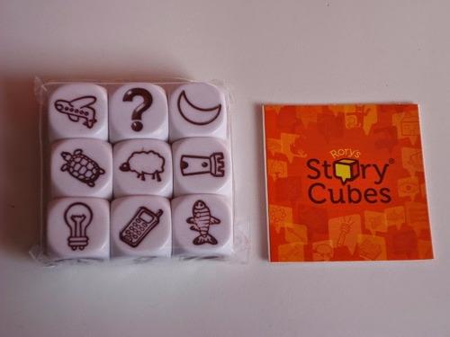 story cube juego dados para coaching creatividad  profesores