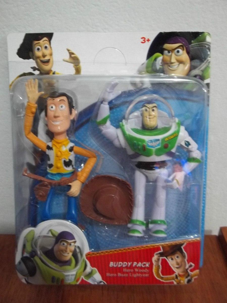 231b5103b2e5a Toy Story Woody + Buzz Set Muñecos Grandes Excelente -   259