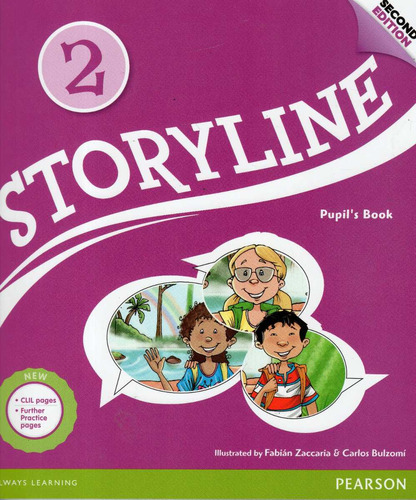 storyline 2 / pupil´s book / second edition - pearson