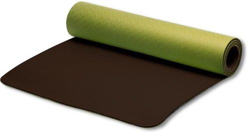 stott pilates mat eco-friendly (hoja verde / corteza), de c