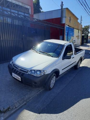 strada 2012 working ar condicionado kit gas financio em 48 x