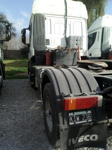 stralis 410 nr 2011 empresa vende por renovación impecable!!