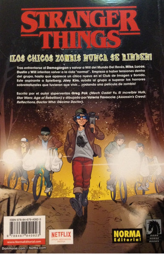 stranger things: chicos zombis