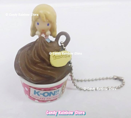 strap plug k-on tsumugi rement cupcake moldes kawaii japon