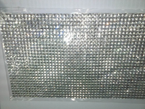 strass autoadhesivo plancha de 14x12.50cm