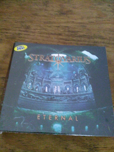 stratovarius eternal cd+dvd ( edicion especial pasta dura )