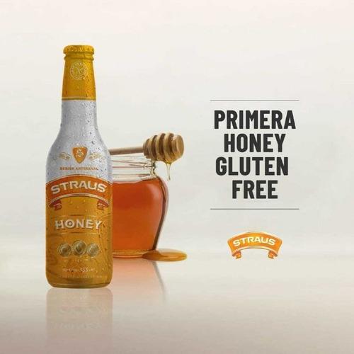 straus honey (sin tacc)-- 330cc-- caja x24