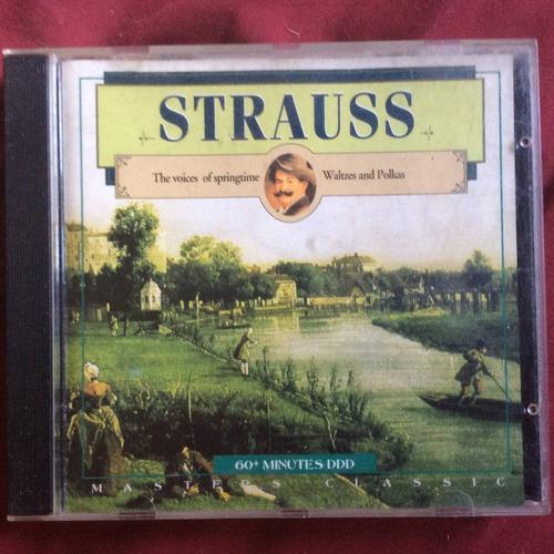 strauss, valses y polkas, masters classics