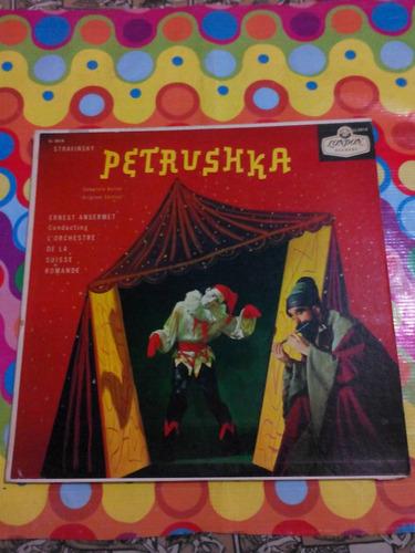 stravinsky lp petrushka- ballet