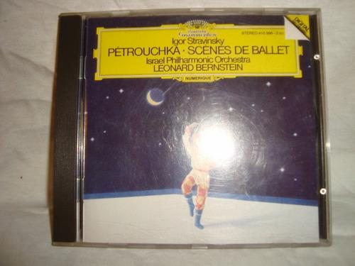 stravinsky petrouchka scenes de ballet audio cd en caballito