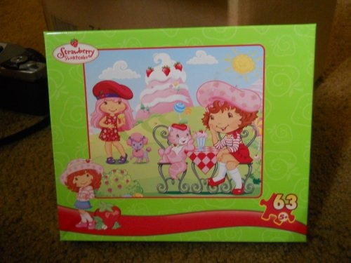 strawberry shortcake 63-pc puzzle ~ ice cream parlor