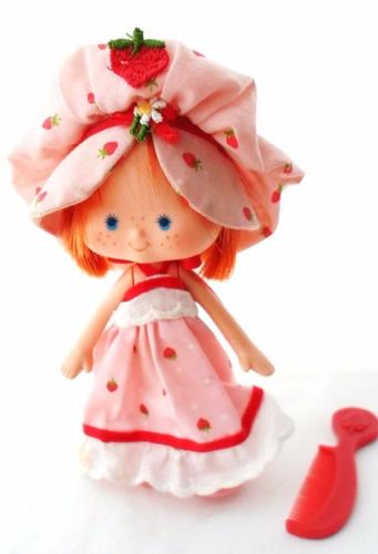 strawberry shortcake peines vintage¨frutillitas¨
