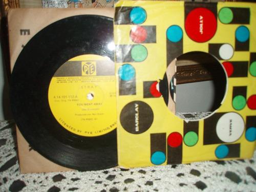 stray compacto vinil you went away quarteto ingles anos 70.