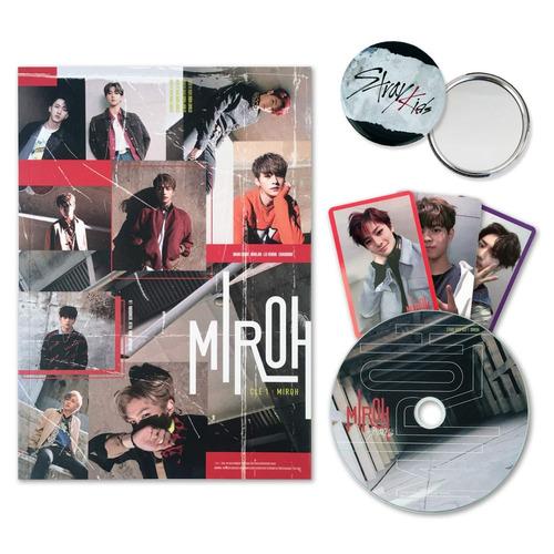 stray kids cle 1 miroh  cd nuevo importado versión aleatoria