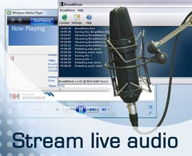 streaming audio hd (su radio por internet) 20.000 usuarios