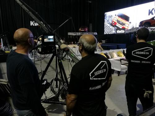 streaming en vivo para eventos - transmisión profesional