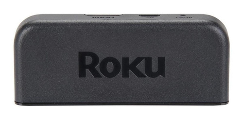 streaming media player roku express+ 3910xb estándar negro