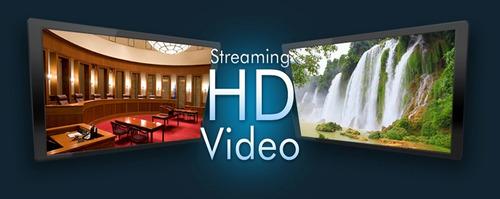 streaming video hd (su tv por internet) 200 usuarios