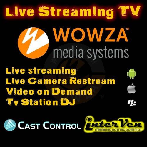 streaming video wowza live, tvstation