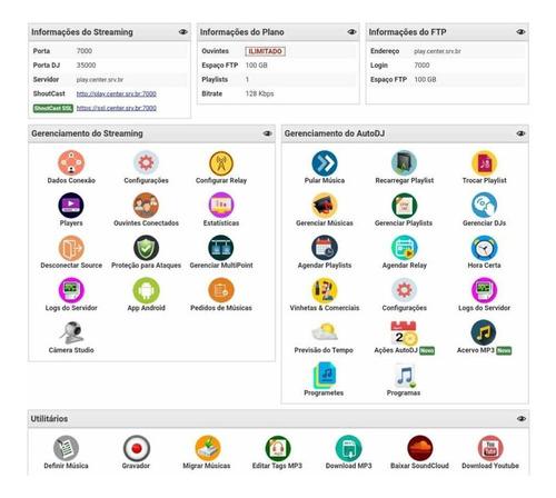 streaming web radio r$5,00 - menor preço do mercado livre